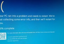 Windows 10 Blue Screen error