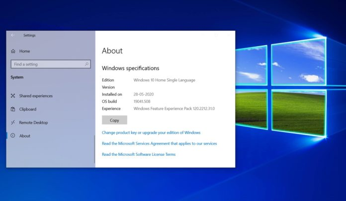Windows 10 September 2020 update