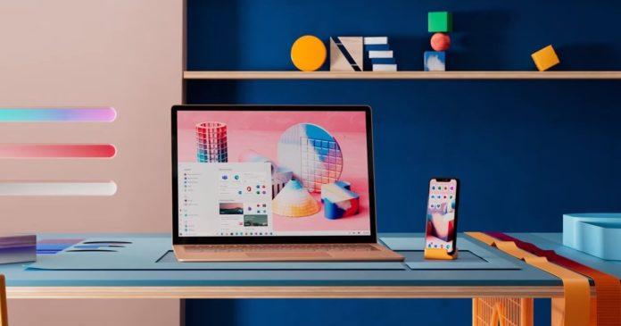 Windows 10 desktop teaser