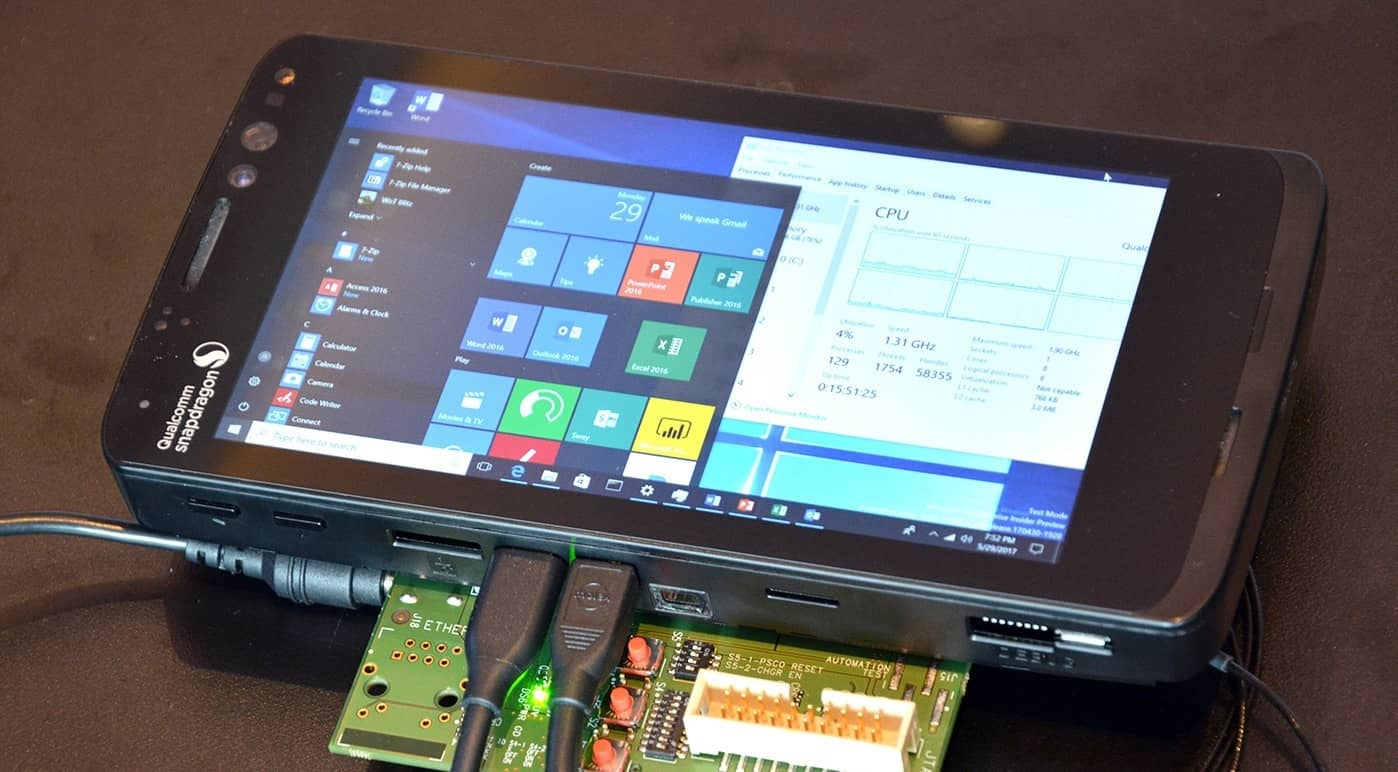 Windows 10 on ARM emulation