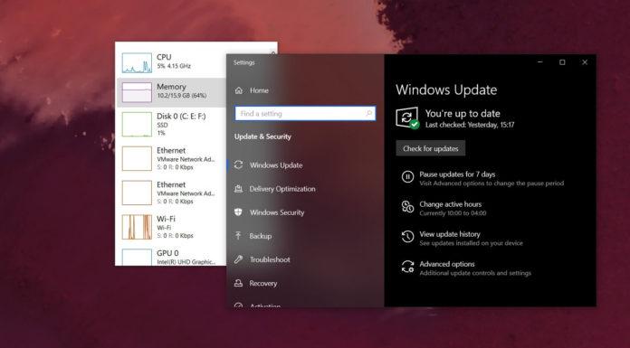 Windows 10 performance setting