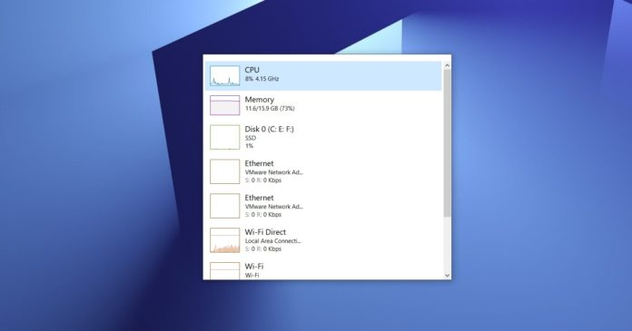 Windows 10 performance update