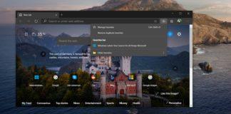 Edge browser update