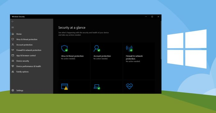 Microsoft Defender for Windows 10
