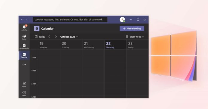 Microsoft Teams desktop update