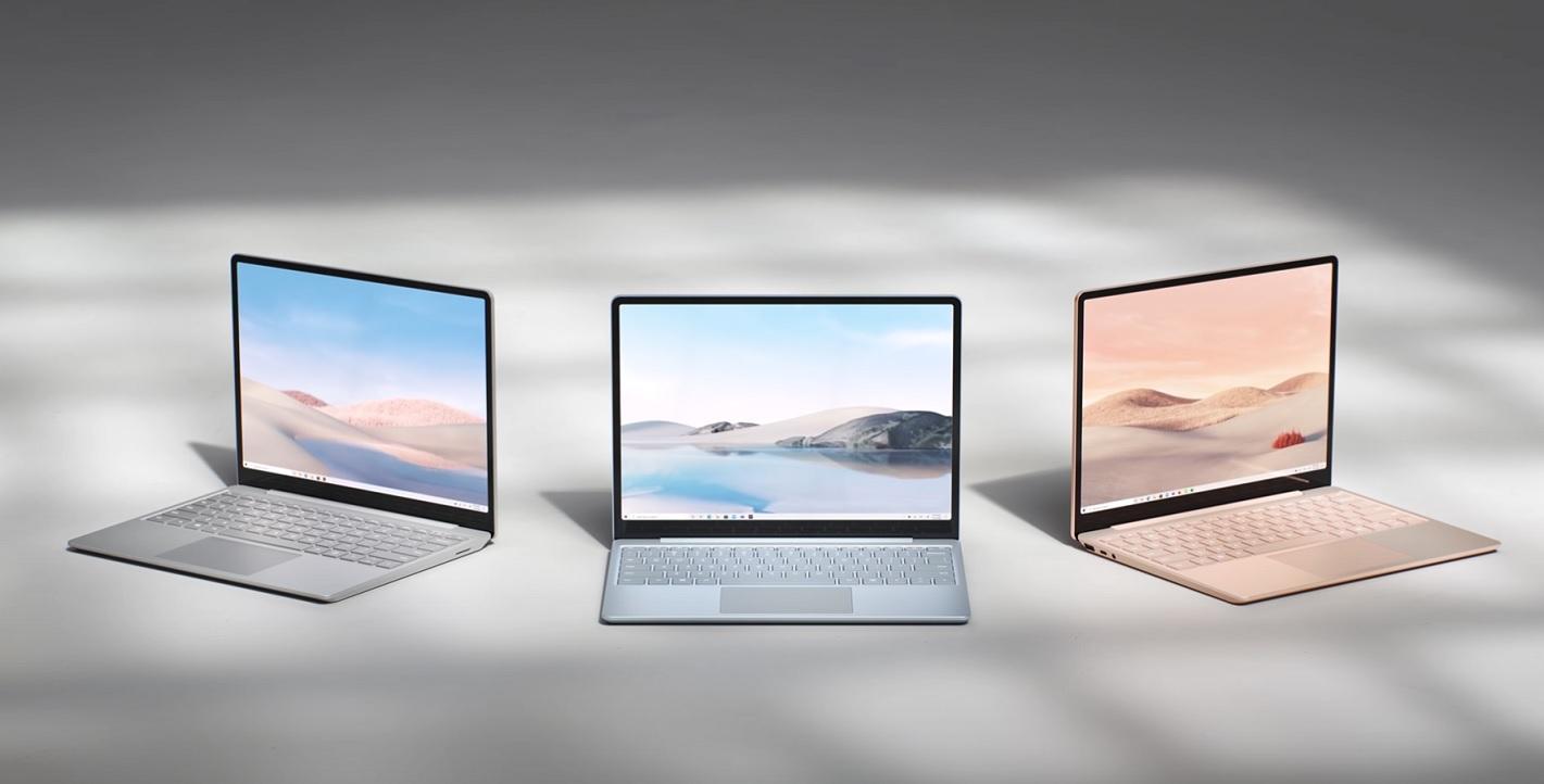 Surface Laptop Go colours