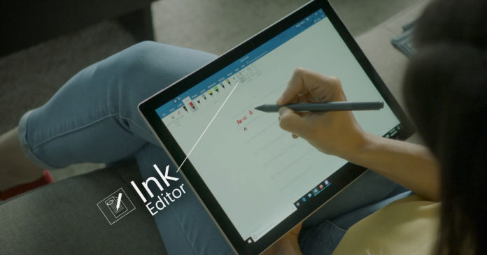Surface Pen with Surface Pro
