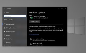 Windows 10 October 2020 Update features