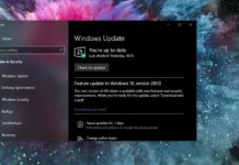 Windows 10 October 2020 Update issues