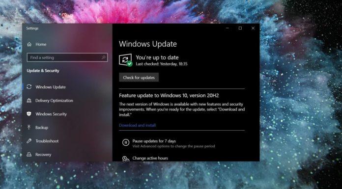 Windows 10 October 2020 Update issues