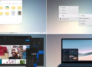 Windows 10X features