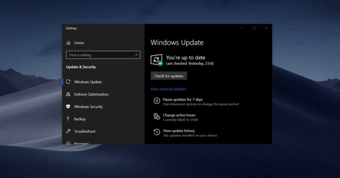 Windows Update actionable blockers