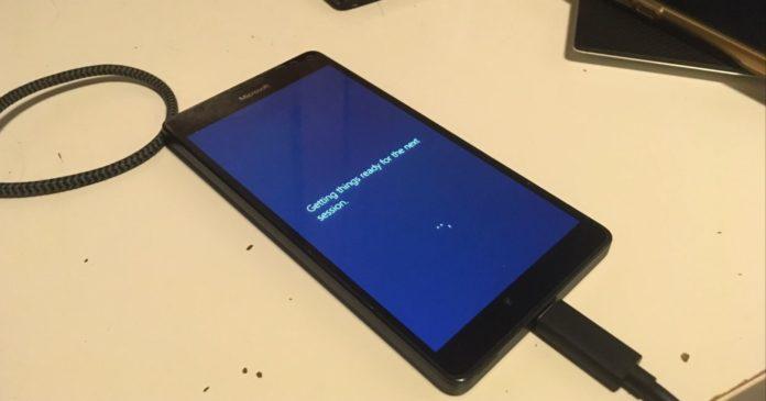 Lumia with Surface Hub OS