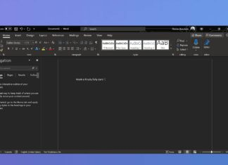 MS Word for Windows 10