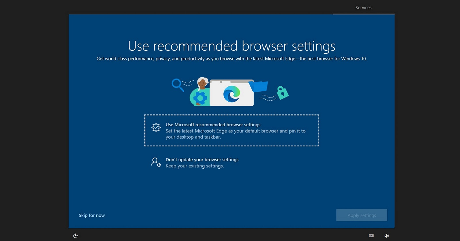 Windows 10 is now nagging users with full screen Microsoft Edge ads