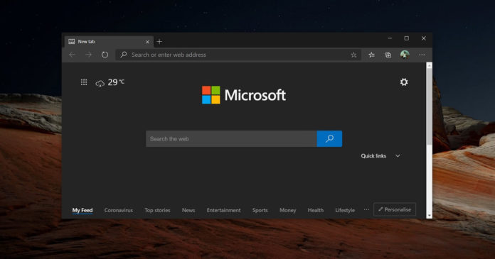 Microsoft Edge stable update