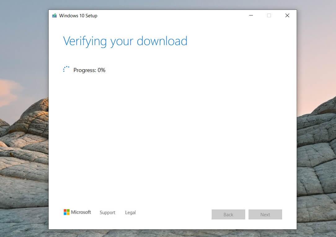 Windows 10 ISO media