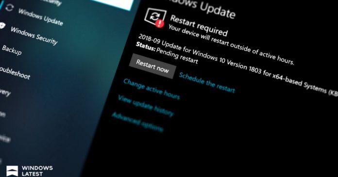 Windows 10 Intel microcode update