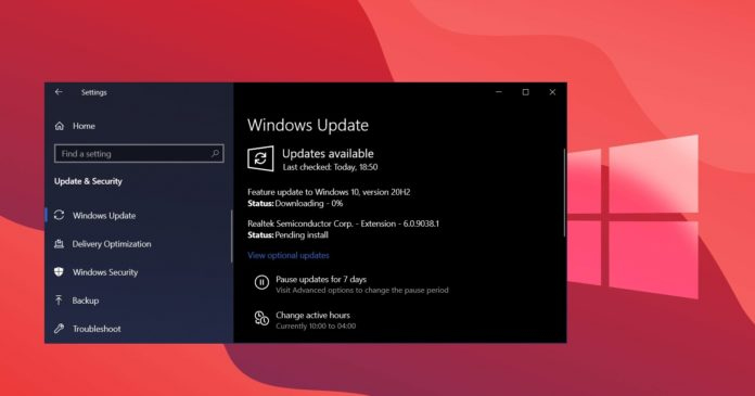 Windows 10 compatibility update