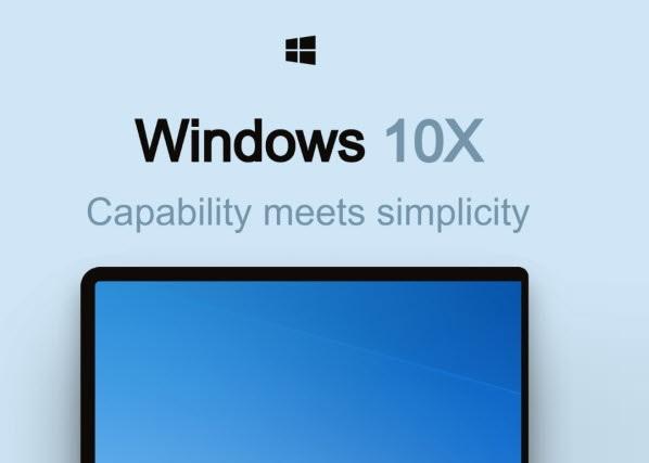Windows 10X tagline