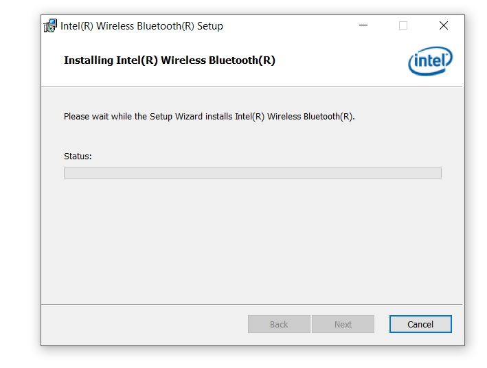 Intel Bluetooth driver update