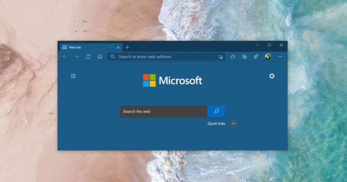 Microsoft Edge custom themes