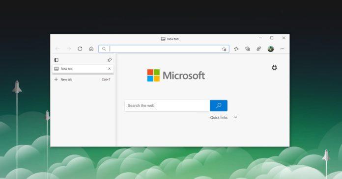 Microsoft Edge performance update