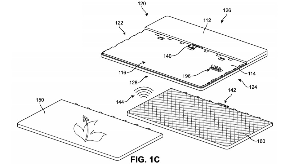 Surface Book patent design