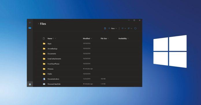 Windows 10 Modern File Explorer