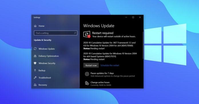 Windows 10 driver update bug
