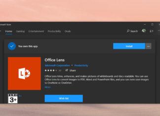 Office Lens for Windows 10