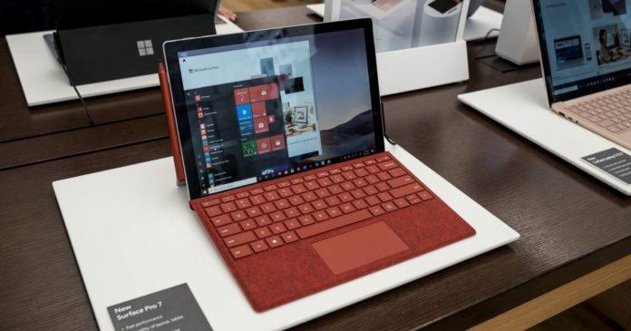Surface Pro 8 leak