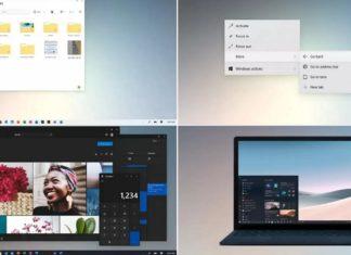 Windows 10 UI upgrade