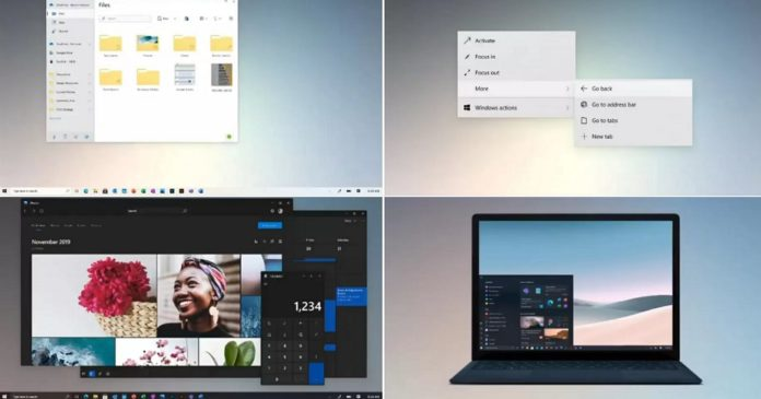 Windows 10 UI upgrade
