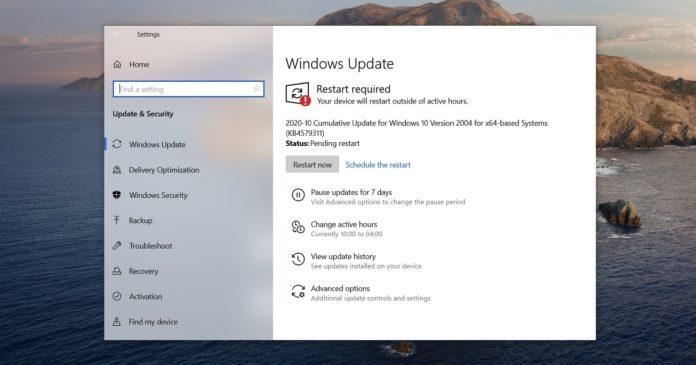 Problèmes Windows 10 KB4601319