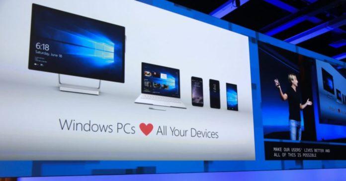 Windows 10 animations