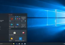 Windows 10 floating Start Menu