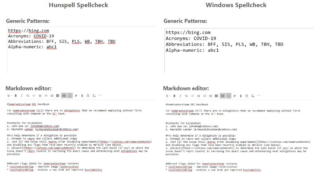 Windows Spellcheck API