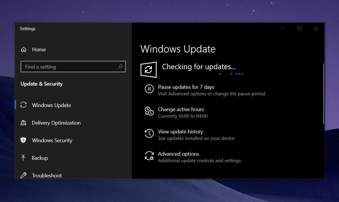 KB5000808 cumulative update