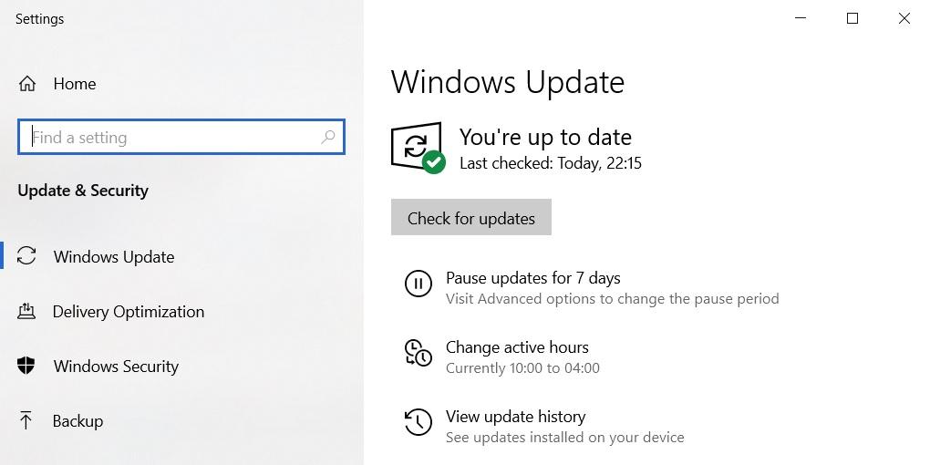 KB5000850 update