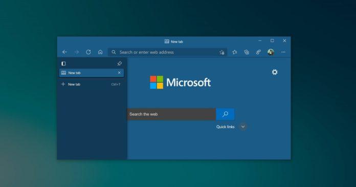 Microsoft Edge tab search