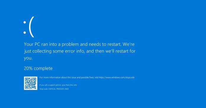 Windows 10 Blue Screen error