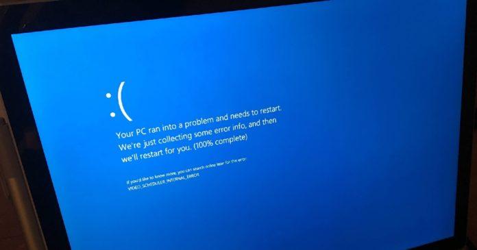 Windows 10 KB5000802 BSOD