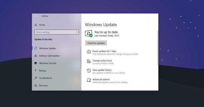 Windows 10 KB5001567