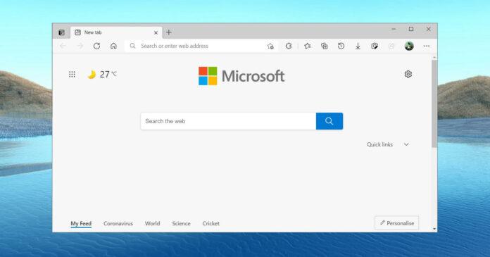 Microsoft Edge 90