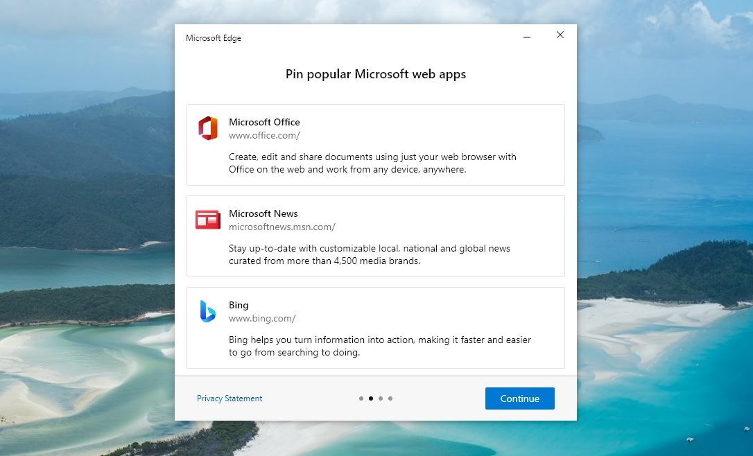 Microsoft web apps