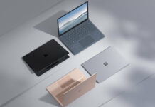 Surface Laptop 4 announced