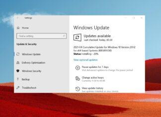 Windows 10 KB5001330 issues