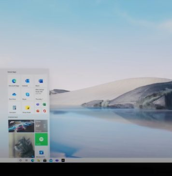 Windows 10 new look