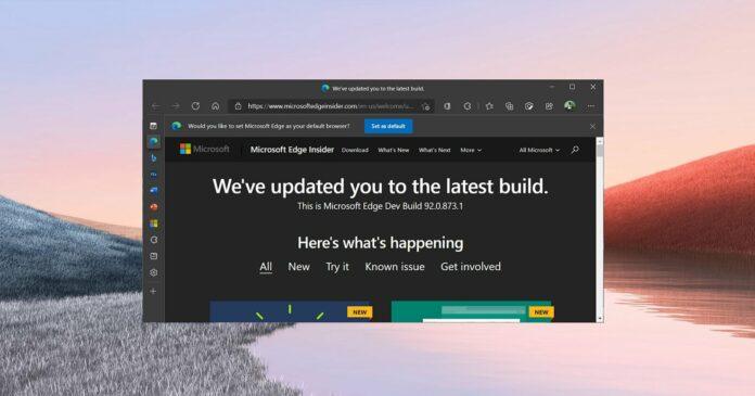 Microsoft Edge Office Viewer